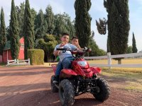 The little ones can also have fun on a quad ride