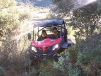 Route in Razer to Presa Allende with equipment 2 hours