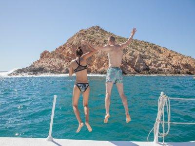 Snorkel en Santa Maria en Catamarán 4 horas niños