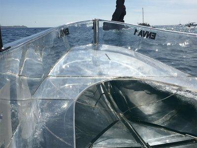 Paseo en barco de cristal Los Cabos 4 horas niños