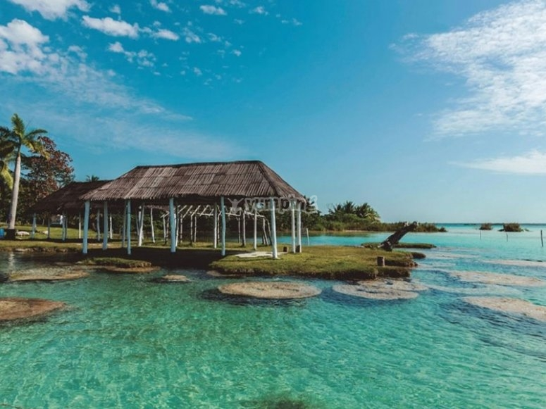 Enjoy Bacalar and the port that was once owned by pirates