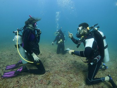 Open Water Diving Course with equipment for 3 days
