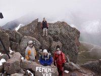 Excursion en haute montagne