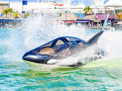 Seabreacher ride in Cancun for 15 minutes