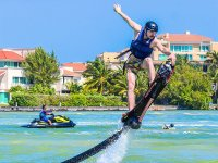 Feel the excitement of flying on a Hoverboard