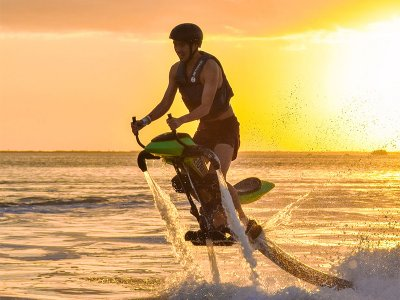 30-minute Jetovator ride in Cancun
