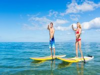 Learn to sail in Paddle Surf in tulum