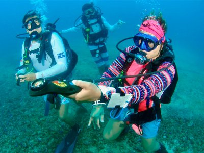 Two dives for beginners in Acapulco 4 h