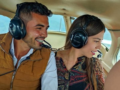 Vuelo turístico en avioneta sobre Guadalajara 1hra