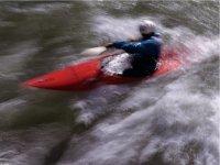 Exciting kayaking