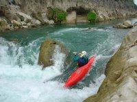 Kayaking descents