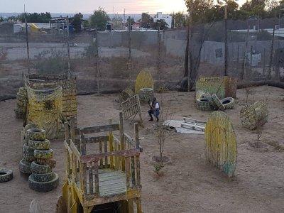 Batalla de gotcha en Diana Laura con 170 balas