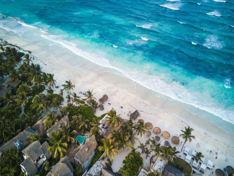 Playas en el caribe