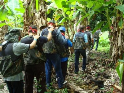 Hike and survival challenges in Jalcomulco