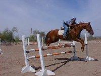 Jumping rider