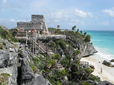 Tour to Turtle Park and Tulum Ruins with food