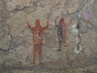 The cave paintings