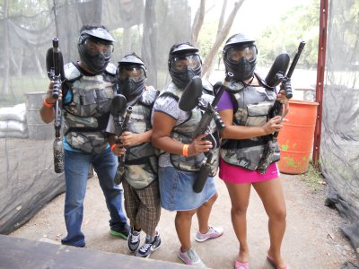 Paintball 100 capsules in Jojutla, Morelos