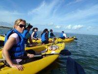 Open sea kayaking