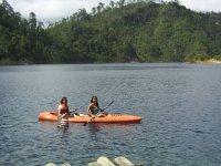 Kayak en lagos de montebello