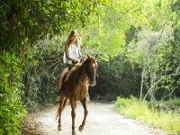 Cabalgata en Selva Maya