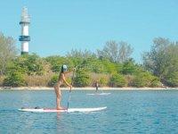 actividades de paddle en Boca del Rio