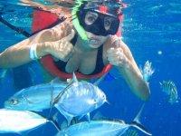 hacer snorkel en México