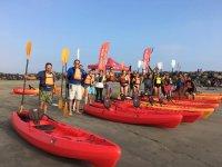 kayak en isla sacrificio