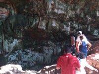 Speleology in groups