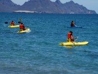 have fun in kayaks