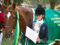 Certificado de equitacion