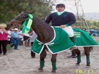 Jorge con Aurora la campeona