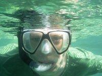 snorkel en mar