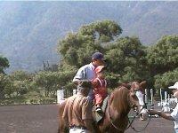 Aprendiendo a montar caballos