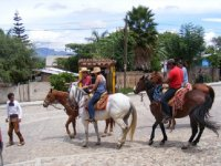 Riding in Oaxaca