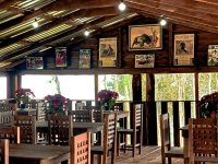 Enjoy a Mexican meal in our restaurant