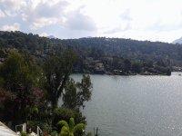 El lago al atardecer