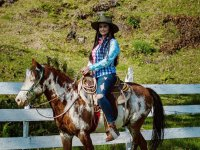 Enjoy a horse ride and travel part of the 50 hectares of the ranch