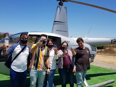 Bajaround Tours & Travel Vuelo en Helicóptero