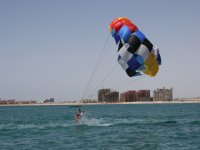 Parasailing two-seater