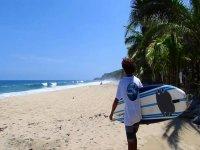 clases personalizadas de surf en Punta Mita