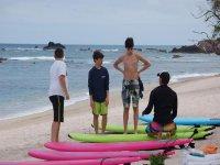 Surf con instructores privados