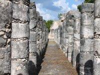 The Mayan columns