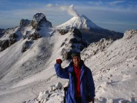 Trekking on the Iztlacihuatl