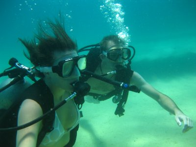 2 immersions, Cabo San Lucas.