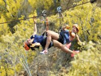 Extreme adventure with our zip lines circuit
