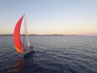 Recorrido en velero para avistar hermosos paisajes