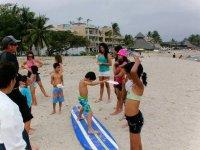 Clases surf para niños