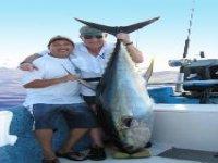 Pesca de atun gigante