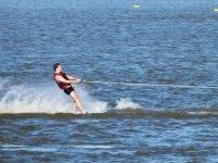 Water skiing Playa Linda